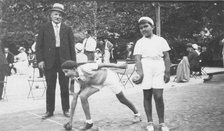 1935 Entrainement des Pupilles
