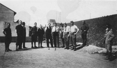 Infirmiers et Vittellois 1939 - 1940