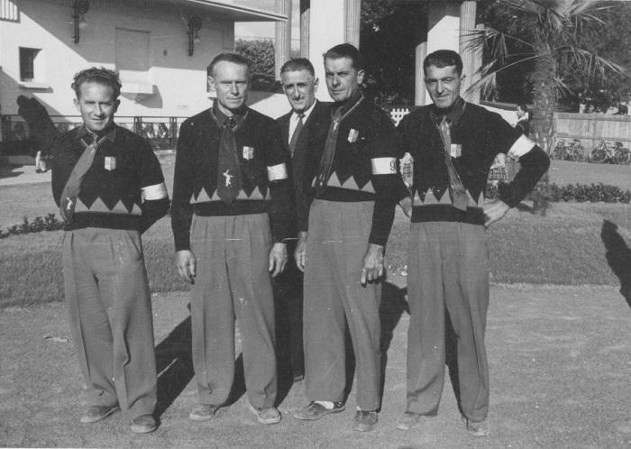 1954 Champ.de France Clermont Ferrand