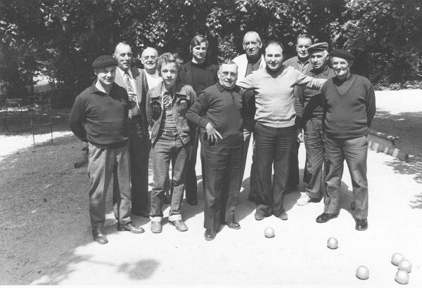 1976 Nos Anciens habitués du Parc