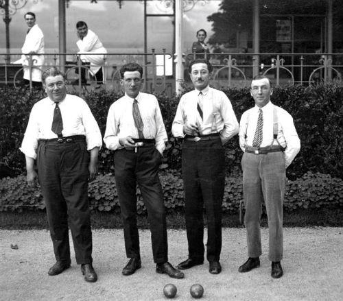 Série Mixte LYON - NANCY 1928