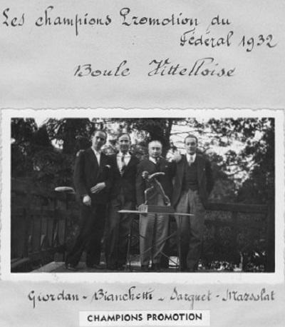 Champions Promotion 1932